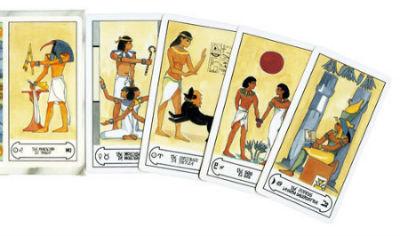 Tiragem de Cartas Egípcias Grátis